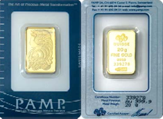 PAMP Suisse Minted Bar Lady Fortuna